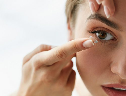 Sore eyes as a contact lenses wearer